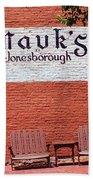 Jonesborough Tennessee Mauk's Store Beach Towel