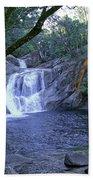 Josephine Falls And Tropical Pool Beach Towel