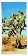 Joshua Trees Beach Towel