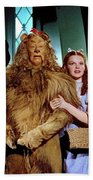 Judy Garland And Pals The Wizard Of Oz 1939-2016 Beach Sheet