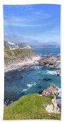 Jurassic Coast - England Beach Towel