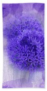 Just A Lilac Dream -4- Beach Towel by Issabild -