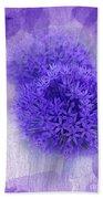 Just A Lilac Dream -4- Beach Sheet by Issabild -