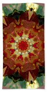 Kaleidoscope - Warm And Cool Colors Beach Towel by Deleas Kilgore