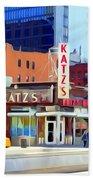 Katz's Delicatessan Beach Towel