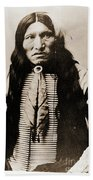Kicking Bear Indian Chief Beach Towel