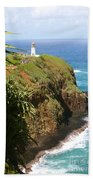 Kilauea Lighthouse Beach Towel