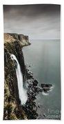 Kilt Rock Waterfall - Isle Of Skye Beach Towel