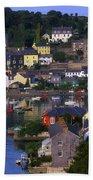 Kinsale, Co Cork, Ireland Boats And Beach Towel