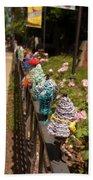 Knit Fence Protectors Beach Towel
