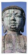 Lahaina, Buddha At Jodo  Beach Towel