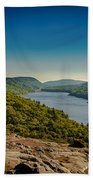 Lake Of The Clouds Beach Towel