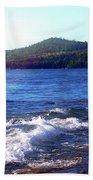 Lake Superior Landscape Beach Towel