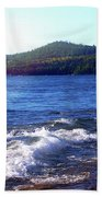 Lake Superior Landscape Beach Sheet