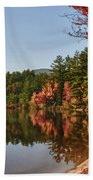 Late Afternoon On Lake Chocorua Beach Towel