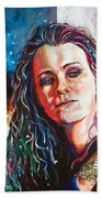 Laura Jane Grace Beach Towel