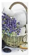 Lavender Spa Beach Towel