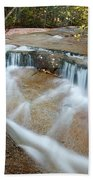 Ledge Brook - White Mountains New Hampshire Usa Beach Towel by Erin Paul Donovan