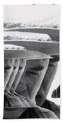 Lee Marvin Monte Walsh Variation 2 Old Tucson Arizona 1969-2012 Beach Towel