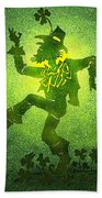 Leprechaun Beach Towel