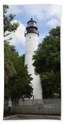 Lighthouse - Key West Beach Towel