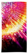 Lighting Explosion Beach Towel