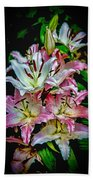 Lilies Of The Falls Beach Towel