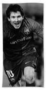 Lionel Messi 1 Beach Towel