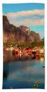 Lofoten, Norway Beach Towel