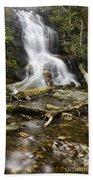 Log Hollow Falls North Carolina Beach Towel