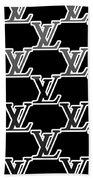 Louis Vuitton Black Beach Towel