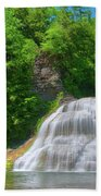 Lower Falls 0485 Beach Towel