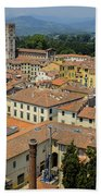 Lucca Italy Beach Towel