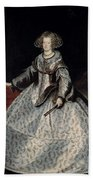 Luycks, Frans Amberes, 1604 - Viena, 1668 Maria Of Austria, Queen Of Hungary Ca. 1635 Beach Sheet