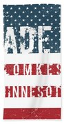 Made In Blomkest, Minnesota Beach Towel