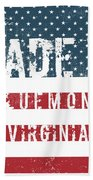 Made In Bluemont, Virginia Beach Towel