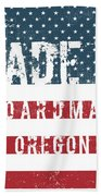 Made In Boardman, Oregon Beach Towel
