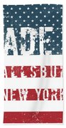 Made In Fallsburg, New York Beach Towel