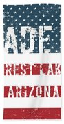 Made In Forest Lakes, Arizona Beach Towel
