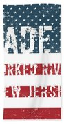 Made In Forked River, New Jersey Beach Towel