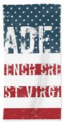 Made In French Creek, West Virginia Beach Towel