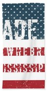Made In Newhebron, Mississippi Beach Towel