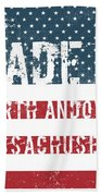 Made In North Andover, Massachusetts Beach Towel