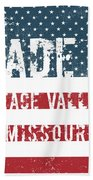 Made In Peace Valley, Missouri Beach Towel