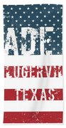 Made In Pflugerville, Texas Beach Towel