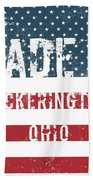 Made In Pickerington, Ohio Beach Towel