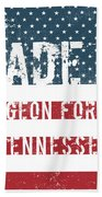 Made In Pigeon Forge, Tennessee Beach Towel