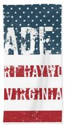 Made In Port Haywood, Virginia Beach Towel