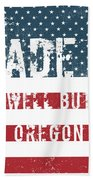 Made In Powell Butte, Oregon Beach Towel