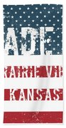 Made In Prairie View, Kansas Beach Towel